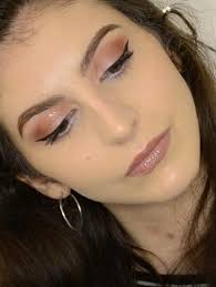 easy party or night out makeup tutorial simple full face glam