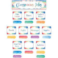 Classroom Jobs Chart Amazon Com
