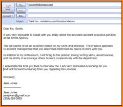 Resume Sending Email Letter