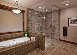 Luxury Shower Stall Tiles Idea