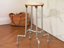 diy steel pipe stool