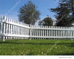 Photo Of White Wood Fence