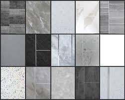 grey bathroom cladding white ceiling