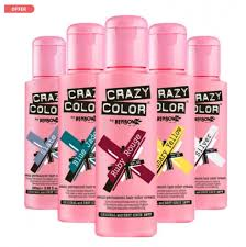 Stargazer Color Chart Crazy Color Semi Permanent Hair Color Cream Salons Direct