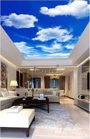 Pvc Roof Design Us 14 0 Nice View Ceiling Film Pvc Stretch Ceiling Film Accessories Pop Ceiling Design For Bedroom In Wallpapers From Home Improvement On Aliexpress