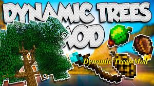 Minecraft 1 12 2 Dynamic Lights Dynamic Trees Mod Of Minecraft Change The Natural Growth Of