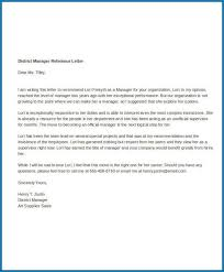 remendation letter for employee