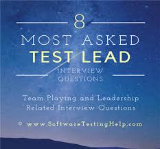 interview questions team leader how to answer team playing and leadership related interview