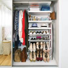 elfa closet organizer for bedroom storage system ideas small white elfa closet with shoes drawers