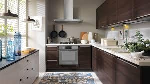 Frontfarbe IRIS EICHE DUNKEL Küchenkollektion Modern Family Line