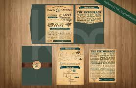 wedding invitations kalidad prints and favors Wedding Invitation Maker In San Pedro Laguna rustic romance 01 pocket fold wedding invitation