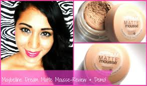 maybelline dream matte mousse foundation review demo and three little books you
