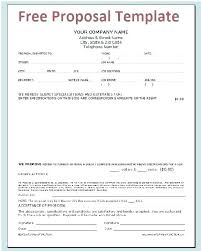 Cost Proposal Template Word Gsa Proposal Template