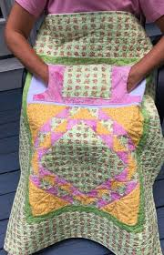 135 best Gifts for Grandma images on Pinterest | Mosaics ... & Pink Roses Lovie Lap Quilt with Pockets from http://www.HomeSewnByCarolyn. Adamdwight.com