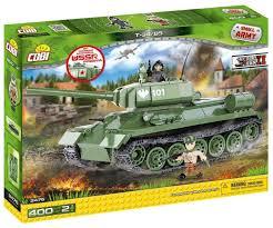 <b>Конструктор Cobi Small Army</b> World War II 2476 Танк Т-34-85 ...