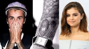 Justin Bieber Still Has Selena Gomez Tattoo