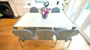 full size of white high gloss dining table and 4 chairs oslo round stowaway with komoro