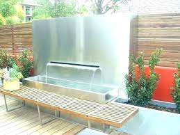 wall mounted water fountains outdoor waterfall a garden fountain solar indoor india