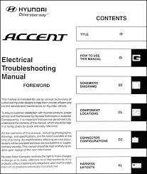 2007 hyundai accent electrical troubleshooting manual original 2007 hyundai accent electrical troubleshooting manual original · table of contents