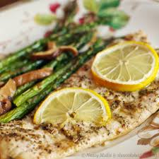 Baked Flounder with Lemon-Pepper Seasoning | she cooks...he cleans