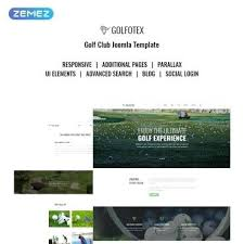 Free Downloads Web Templates Golf Website Templates Type Author Downloads 4 Price Social