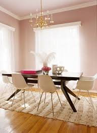 paint color portfolio pale pink dining rooms would definitely choose diffe chairs and table