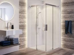 duscholux bella vita 3 plus corner shower cabin corner glass shower cabin with sliding door