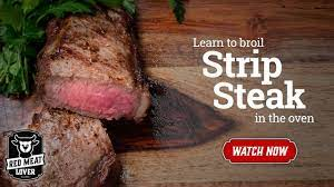cook steak in oven how to broil steak