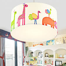 childrens room lighting. Awesome Chic Zootopia Fabric Shade Kids Room Ceiling Lights Drum Shaped Throughout Light Childrens Lighting