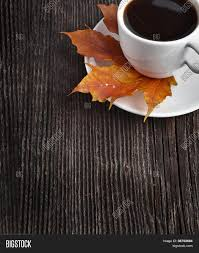 Download the perfect coffee cup pictures. Coffee Cup On Autumn Image Photo Free Trial Bigstock