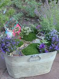 fairy gardens. Container Fairy Gardens
