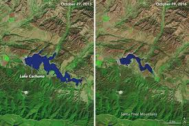 Ca Reservoir Levels Chart Drought Continues To Grip Southern California