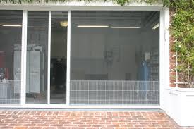 retractable garage door screensGarage Doors  Screen Door For Garage Hunt Astounding Image Design
