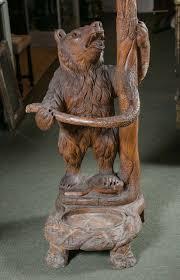 Bear Coat Rack Black Forest Carved Bear Coat Rack or Umbrella Stand For Sale at 100stdibs 70