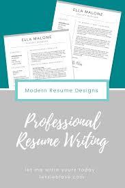 Custom Resume Writing Service Classic Resume Template Designs