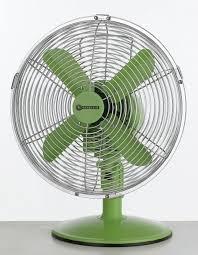 connect it 10 desk fan green modern electric fans