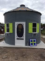 Grain Bin Home Repurposed Grain Bin For A Gift Shop Bin Ideas Pinterest