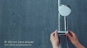 <b>GROHE</b> - The <b>new Tempesta</b> 250 head shower now ensures a...