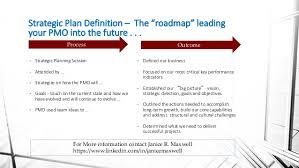 Strategic Plan Fascinating PMO Strategic Planning
