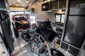 you ll have no problem relaxing in the ious bedroom of an atc toy hauler after a long day of playing in the mud