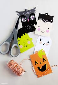 Halloween Gift Cards Free Printable Halloween Tags For Treat Bags Gift Card