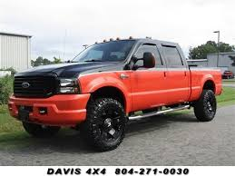 Details about 2004 Ford F-250 Super Duty Harley-Davidson Diesel Lifted 4X4