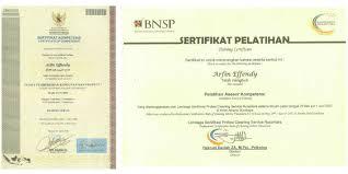 Sertifikat Pelatihan Training Pelatihan Cleaning Service Duta Resik