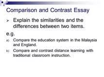 similarities and differences essay outline essays on leo comparison contrast essays literacy education online