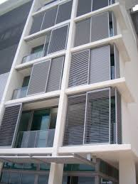 Aluminum Shutters Inspiration contemporary-exterior