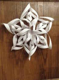 paper snowflakes 3d how to make a beautiful 3d paper snowflake snapguide