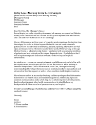 how to write a nursing cover letter cover letter examples for nurses