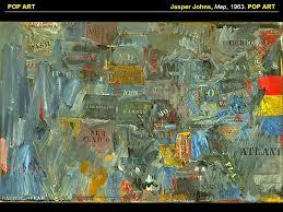 9 jasper johns map 1963