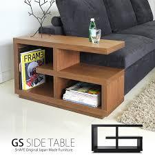 designer furniture gs side table side table wood japan made walnut oak