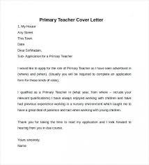 Example Of A Teacher Cover Letter Sample For Teachers Resume Free